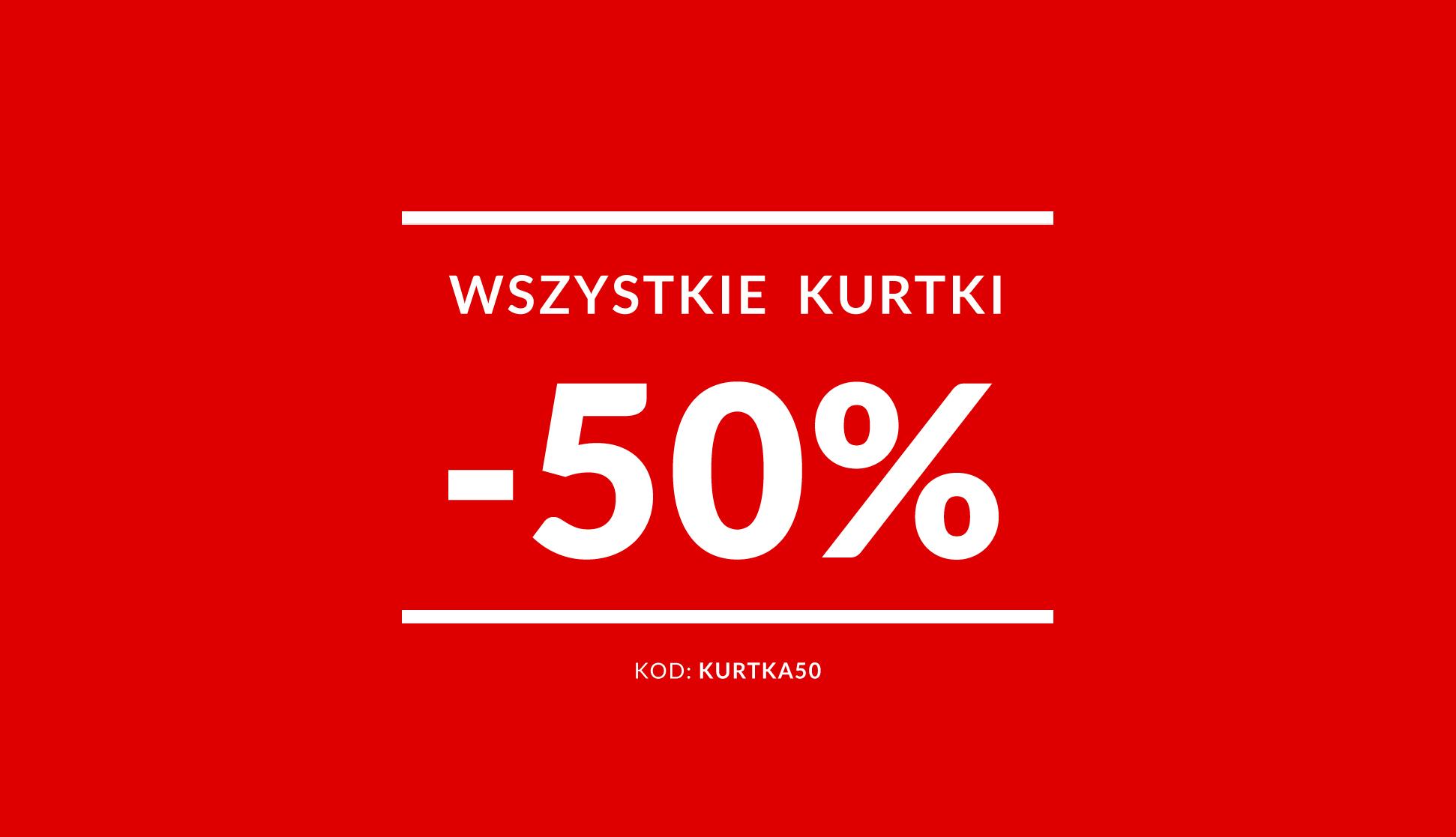 Diverse: wszystkie kurtki ze zniżką 50%