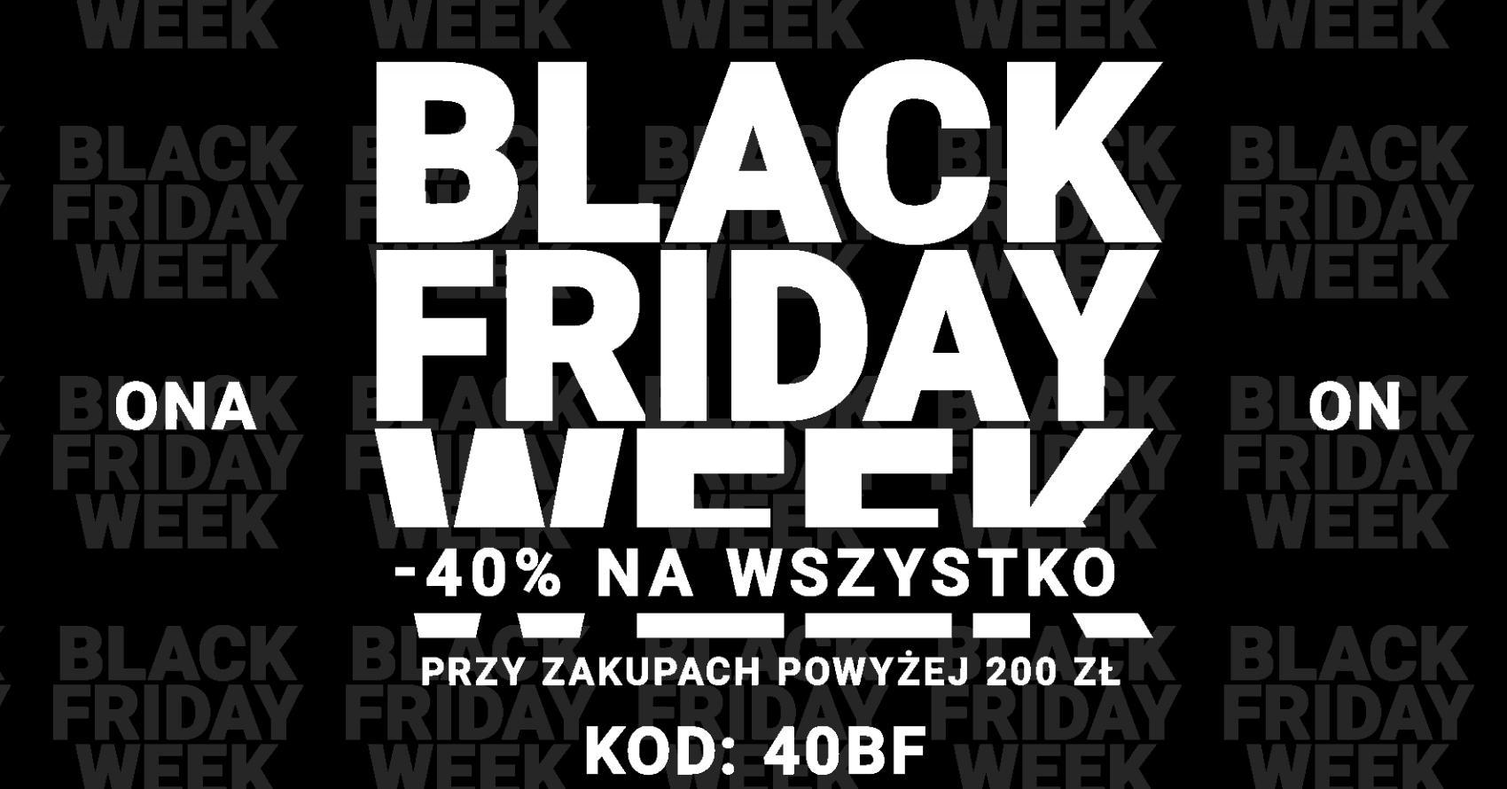 Diverse: Black Friday Week 40% zniżki na odzież i obuwie damskie oraz męskie