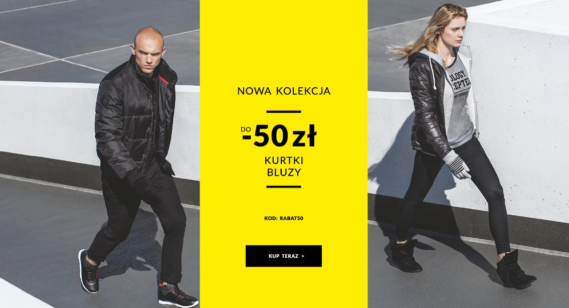 Diverse: do 50 zł zniżki na kurtki i bluzy z nowej kolekcji
