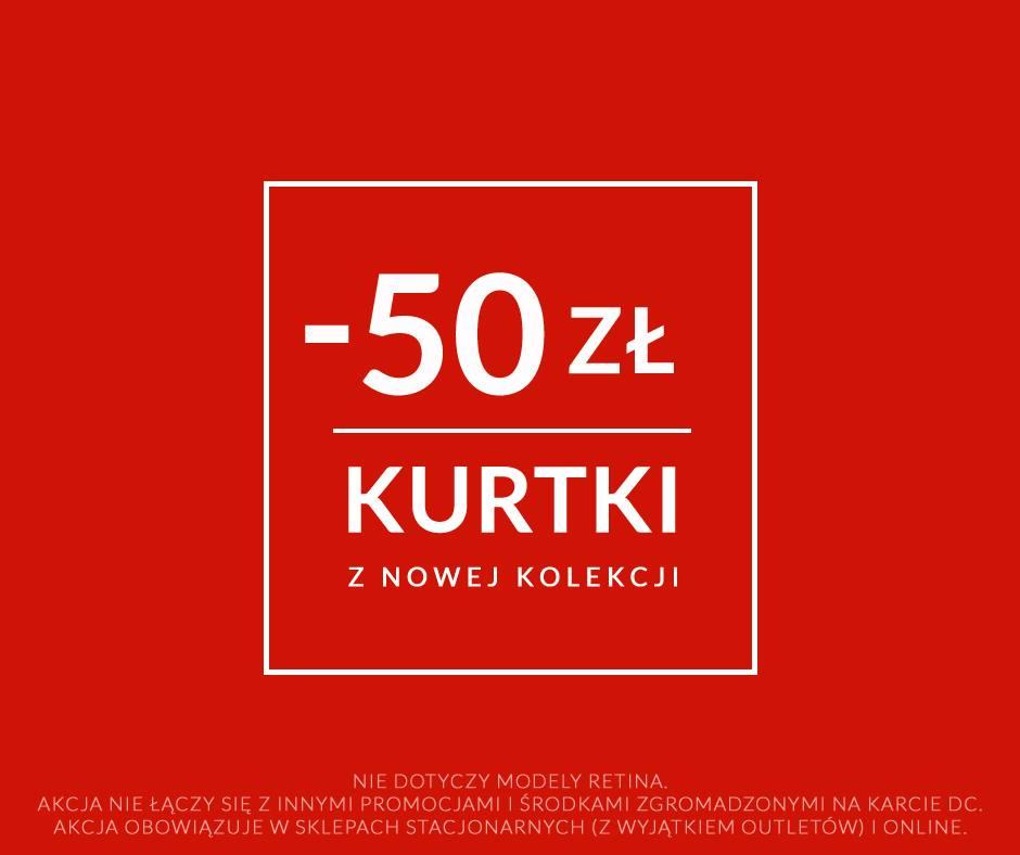 Diverse: kupon rabatowy 50 zł na kurtki z nowej kolekcji