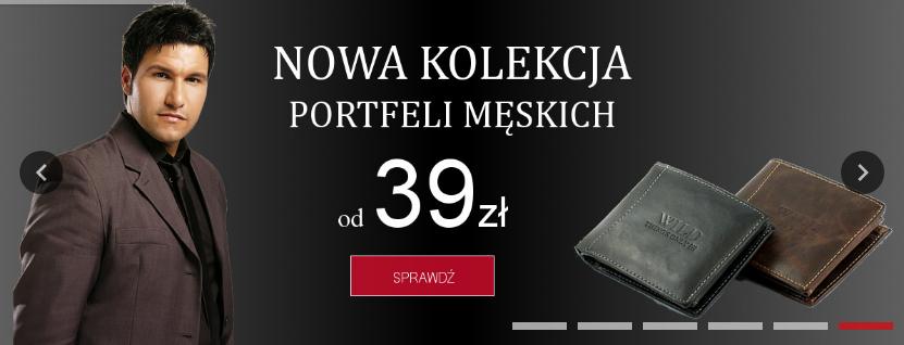 Dla Każdego: portfele męskie od 39 zł                         title=