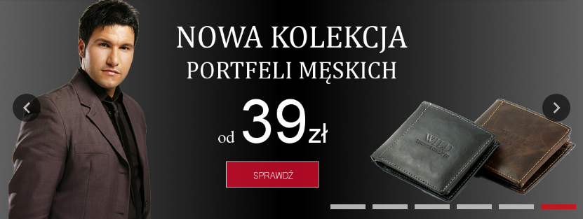 Dla Każdego: portfele męskie od 39 zł