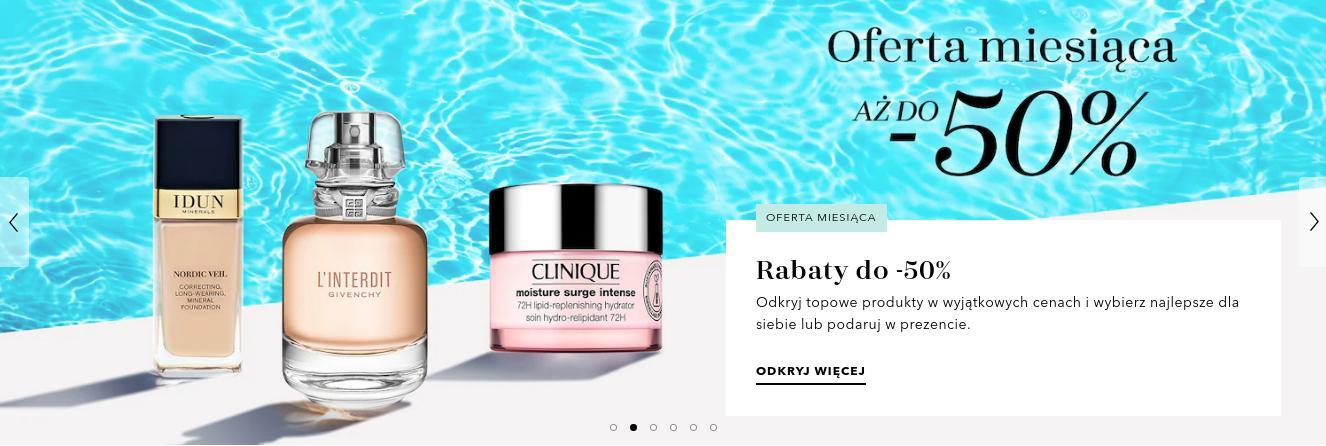 Douglas: do 50% rabatu na kosmetyki i perfumy z oferty miesiąca