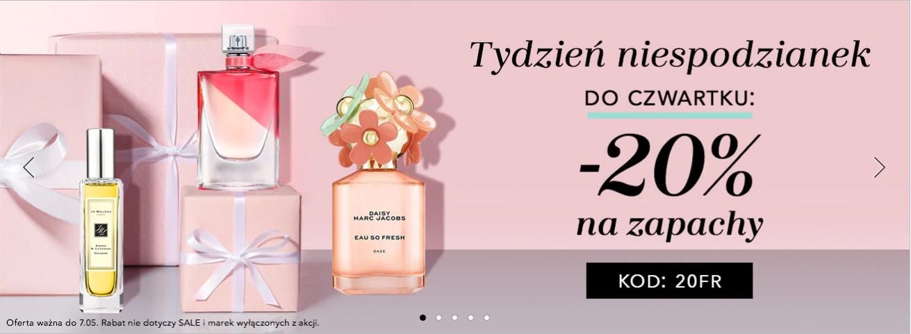 Douglas: 20% zniżki na zapachy damskie i męskie                         title=