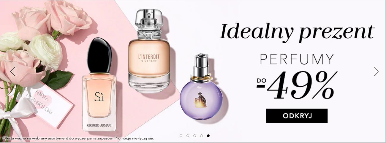 Douglas: do 49% zniżki na wybrane perfumy damskie i męskie