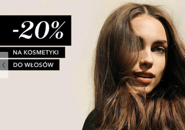 Douglas Douglas: 20% zniżki na kosmetyki do pielęgnacji włosów