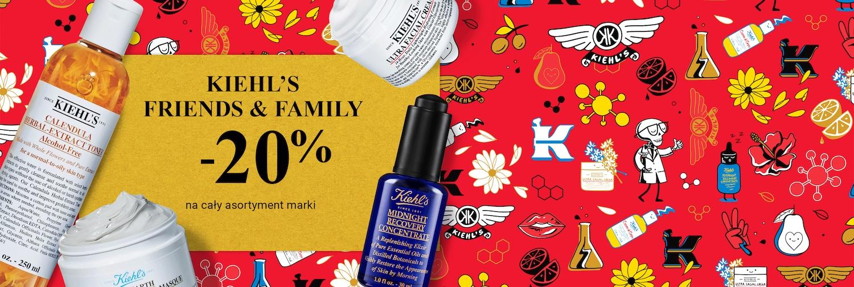 Douglas: 20% rabatu na cały asortyment marki Kiehl's Friends & Family
