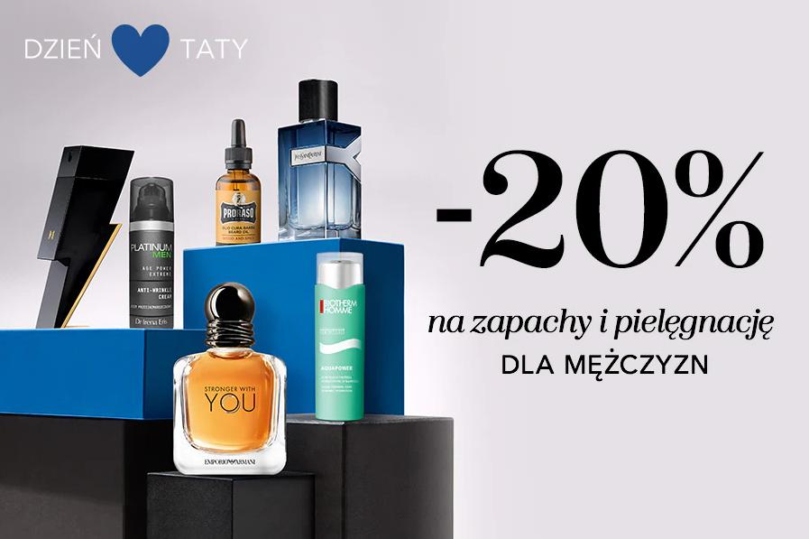 Douglas Douglas: 20% rabatu na zapachy i kosmetyki do pielęgnacji dla mężczyzn z okazji Dnia Taty