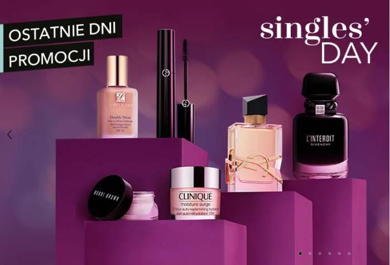 Douglas: Singles' Day 20% zniżki na kosmetyki i perfumy