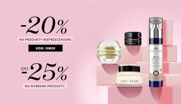 Douglas: 20% zniżki na kosmetyki i perfumy nieprzecenione - tydzień niespodzianek