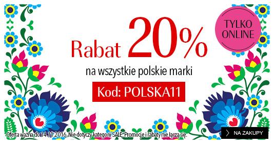 Douglas: 20% zniżki na wszystkie polskie marki