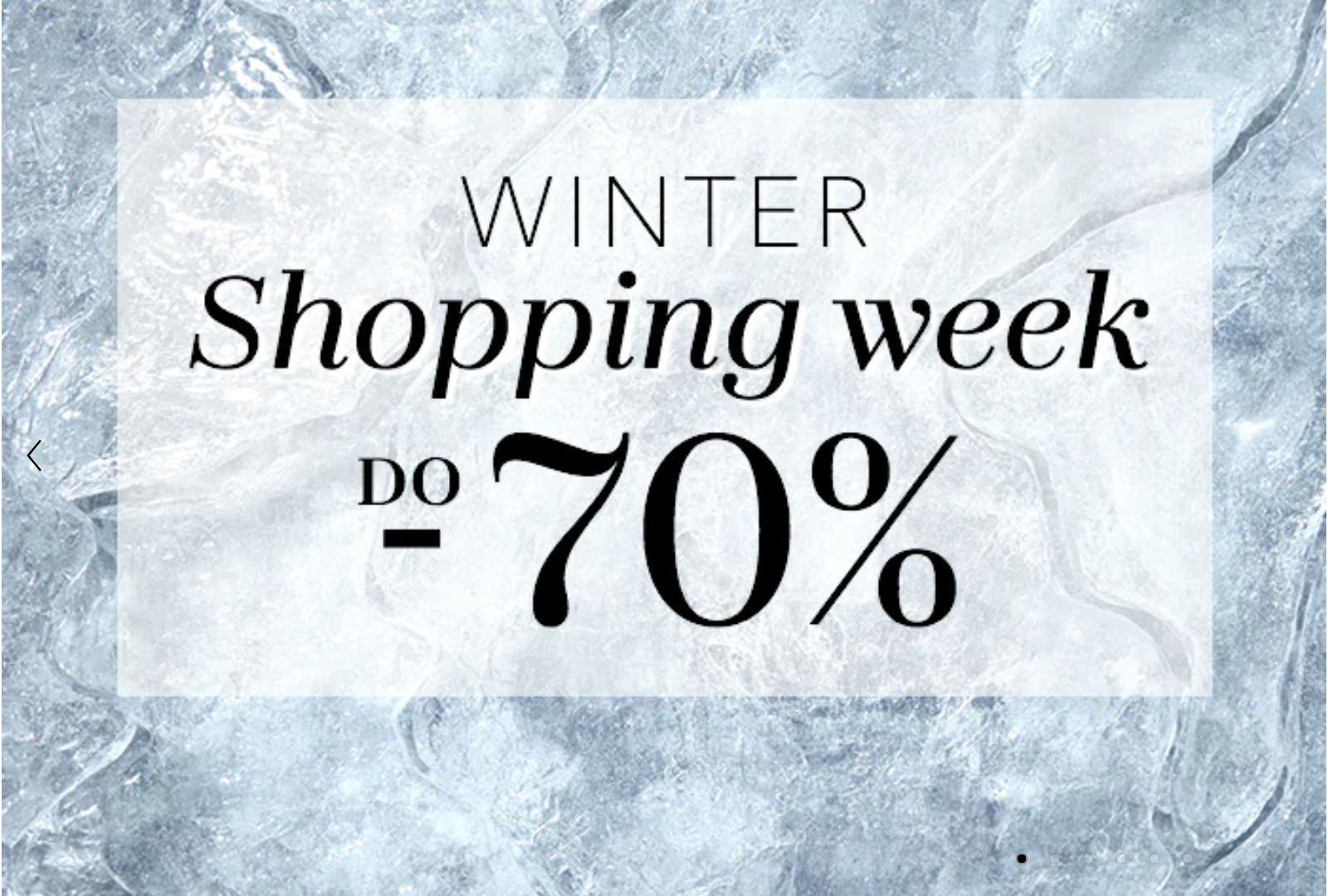 Douglas: Winter Shopping Week wyprzedaż do 70% rabatu na kosmetyki do makijażu i pielęgnacji oraz zapachy