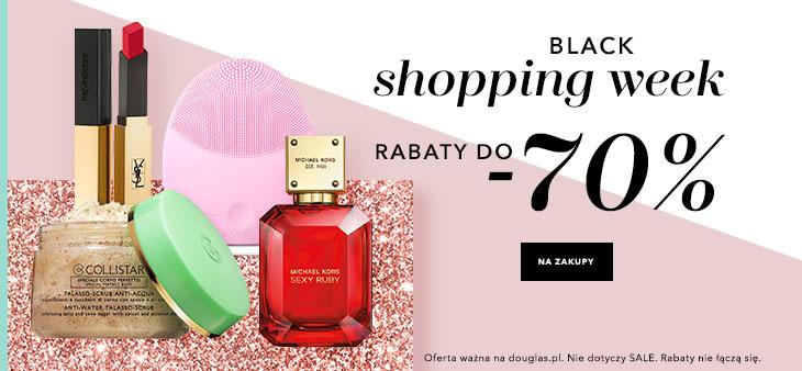 Black Week Douglas: do 70% rabatu na kosmetyki i perfumy