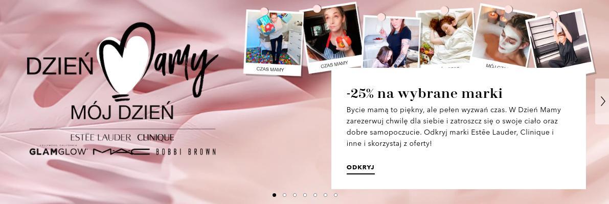 Douglas: 25% rabatu na wybrane marki kosmetyków i perfum znanych marek - Dzień Mamy