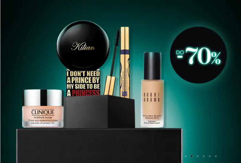Douglas: Black Deals do 70% zniżki na perfumy i kosmetyki do pielęgnacji oraz makijażu