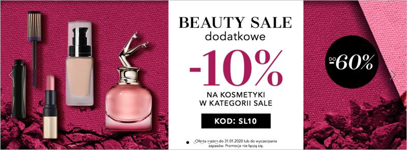 Douglas: do 60% rabatu i dodatkowe 10% na kosmetyki z kategorii Sale                         title=