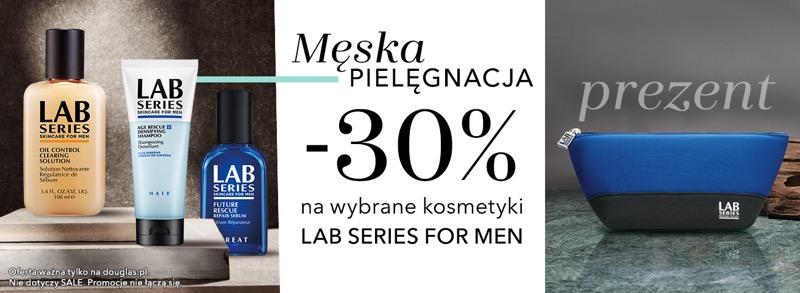 Douglas: 30% zniżki na wybrane kosmetyki Lab Series for Men