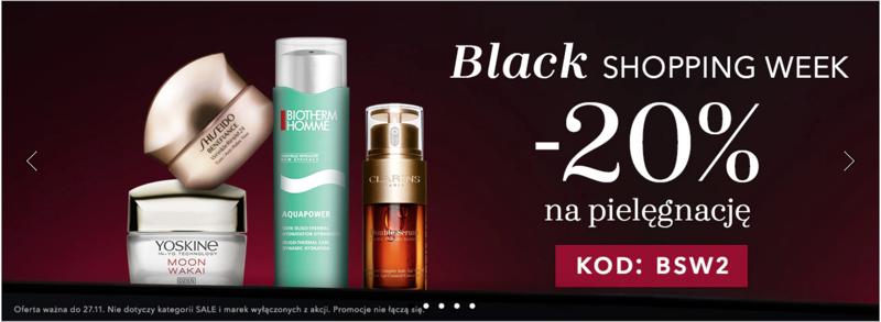 Douglas: Black Shopping Week 20% rabatu na kosmetyki do pielęgnacji twarzy, ciała i włosów
