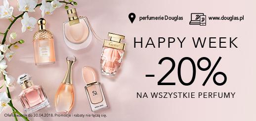 Douglas: 20% zniżki na wszystkie perfumy