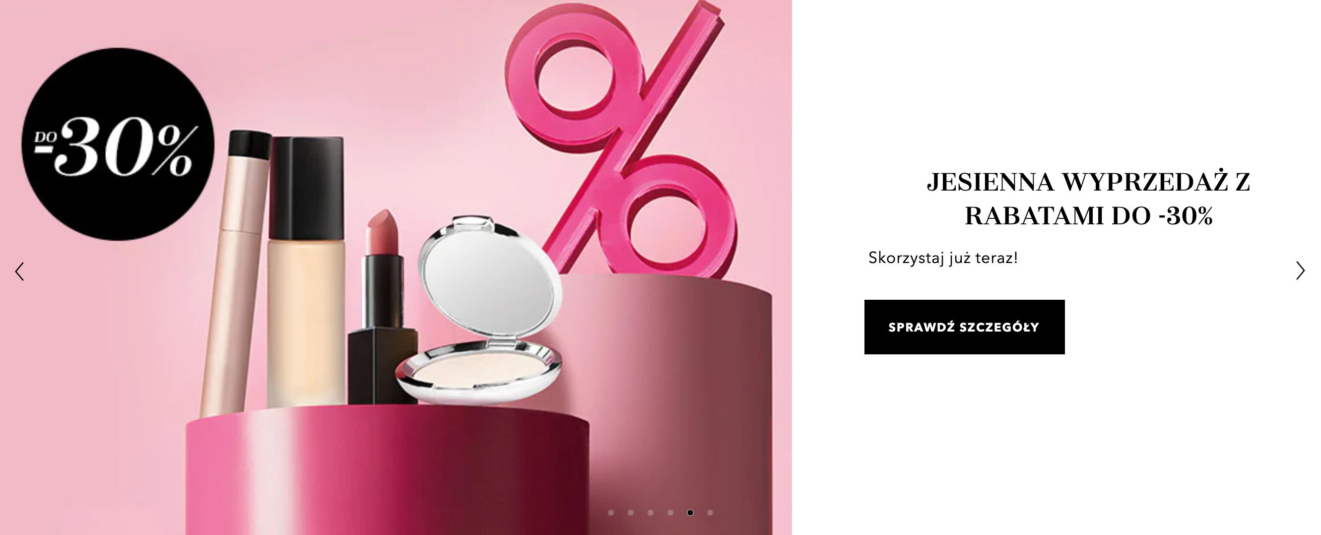 Douglas: jesienna wyprzedaż do 30% zniżki na kosmetyki i perfumy