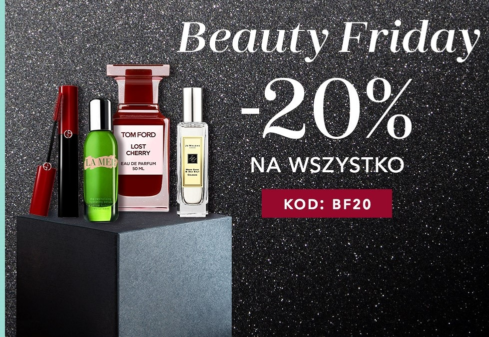 Douglas: Black Friday 20% zniżki na cały asortyment m.in. kosmetyki, perfumy, akcesoria do makijażu