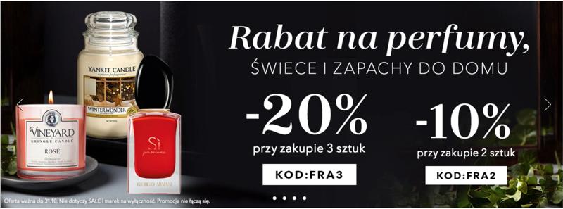 Douglas: do 20% rabatu na perfumy, świece i zapachy do domu