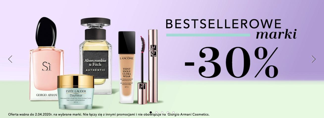 Douglas: 30% rabatu na kosmetyki i perfumy bestsellerowych marek                         title=