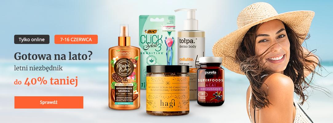 Drogerie Natura: do 40% zniżki na kosmetyki do opalania oraz akcesoria na lato