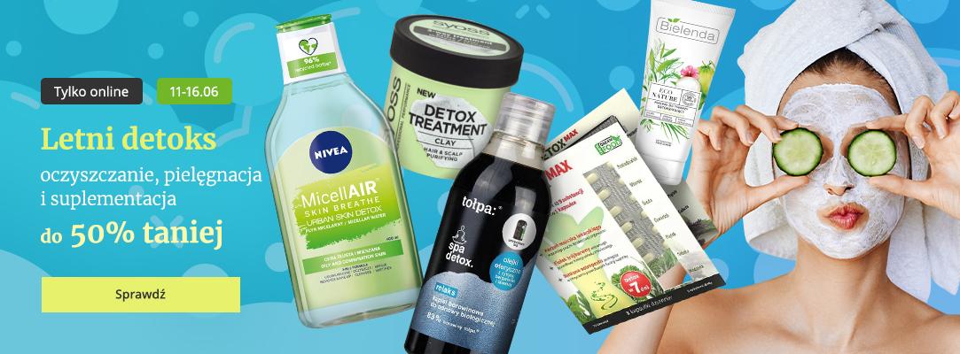 Drogerie Natura Drogerie Natura: do 50% zniżki na kosmetyki do oczyszczania, pielęgnacji i suplementacji skóry
