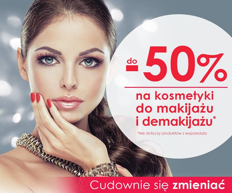Drogerie Natura: do 50% zniżki na kosmetyki do makijażu