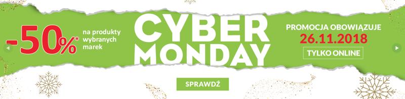 Cyber Monday Drogerie Natura: 50% rabatu na produkty wybranych marek