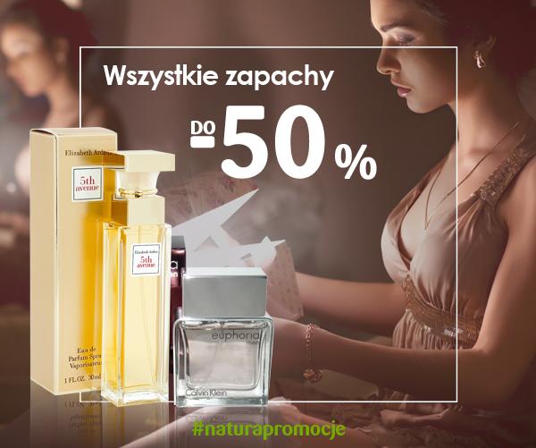 Drogerie Natura: 50% zniżki na wszystkie zapachy                         title=