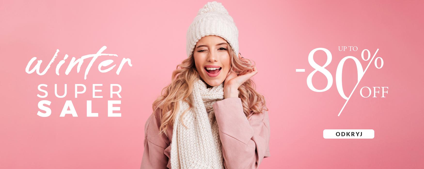 Dstreet: zimowa super wyprzedaż do 80% zniżki na odzież damską i męską