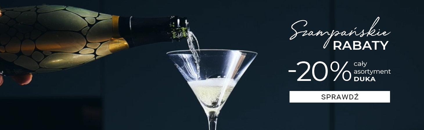 Duka: szampańskie rabaty 20% zniżki na cały asortyment kuchenny