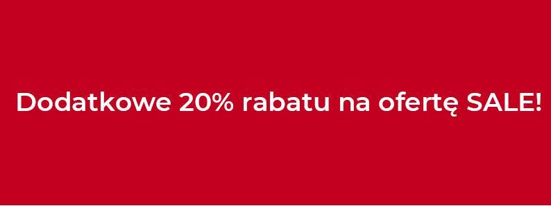 Duka: dodatkowe 20% zniżki na produkty z kategorii SALE