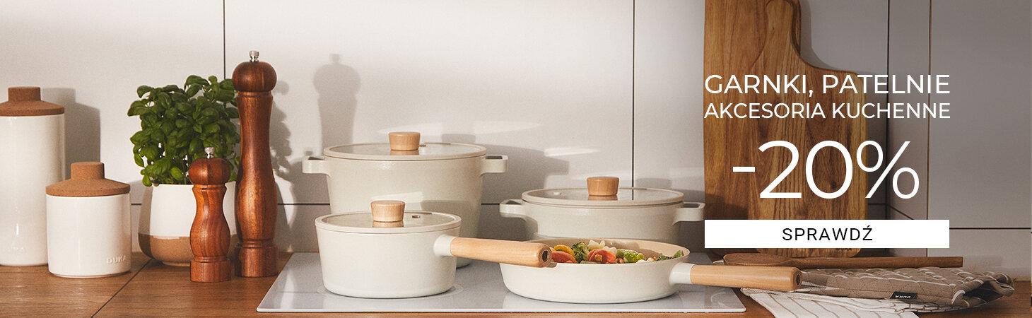 Duka: 20% zniżki na garnki, patelnie, akcesoria kuchenne
