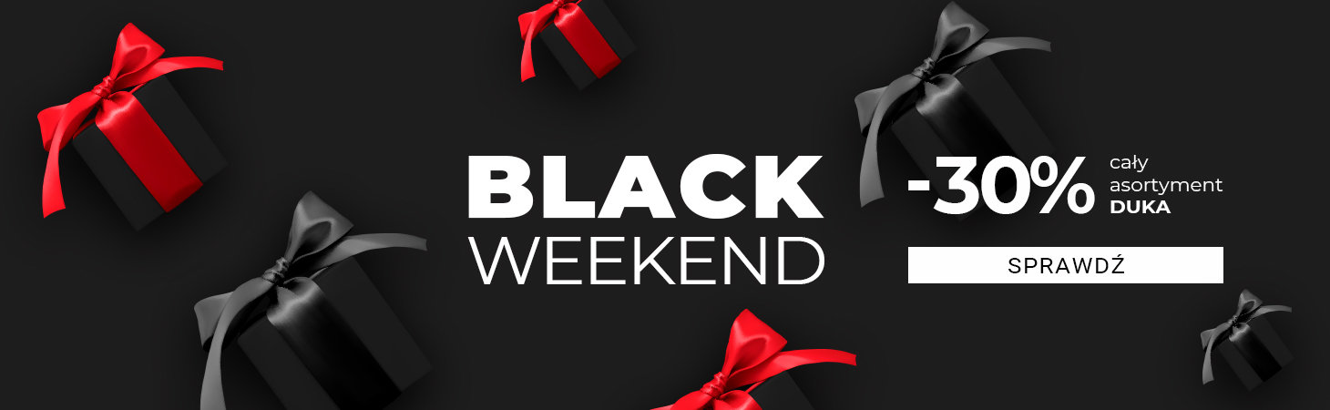 Duka: Black Weekend 30% rabatu na cały asortyment kuchenny