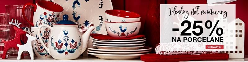 Duka: 25% rabatu na porcelanę