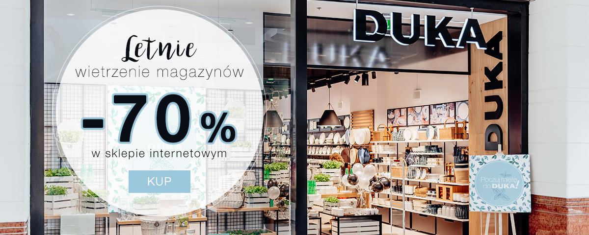 49e46c2fa Duka: wietrzenie magazynów do 70% rabatu na produkty w kategorii Sale