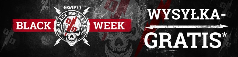 Black Week EMP Shop: do 70% zniżki na odzież w stylu rock, metal & entertainment