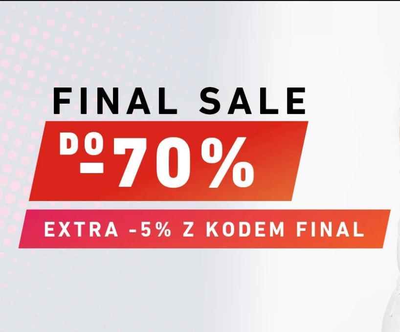 Eastend: dodatkowe 5% zniżki na odzież, obuwie i akcesoria z wyprzedaży do 70%