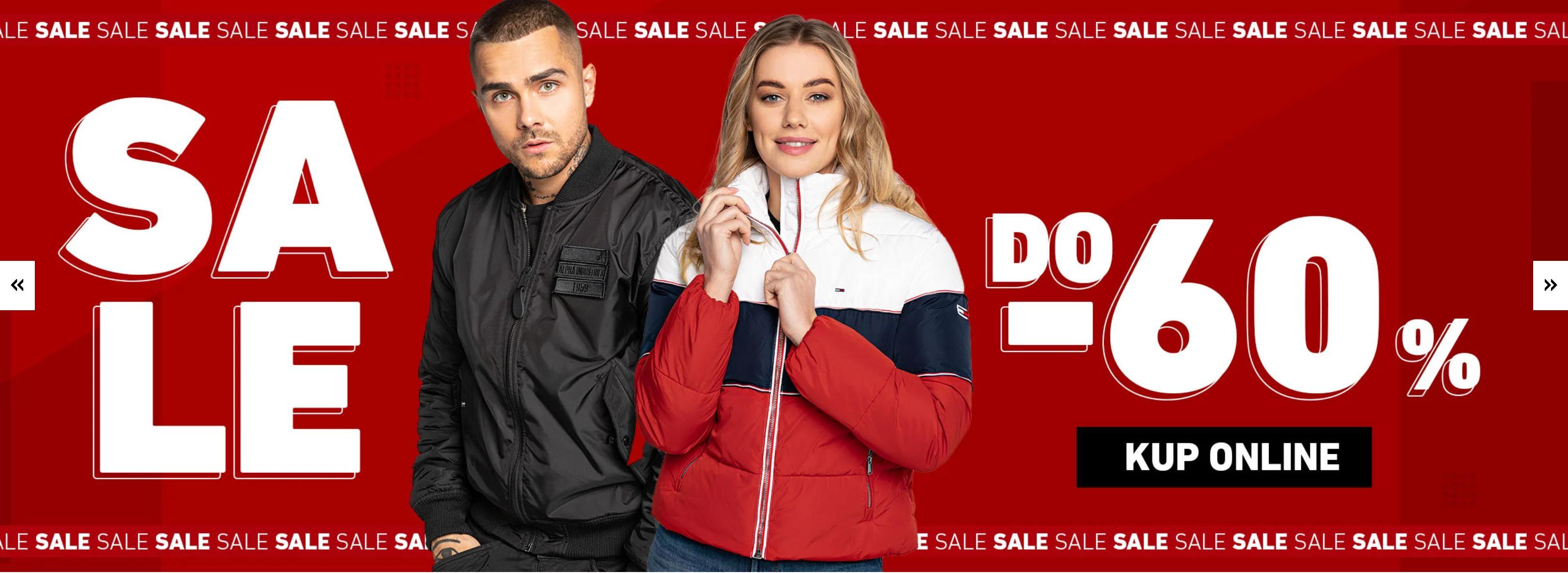 Eastend: wyprzedaż do 60% zniżki na odzież i obuwie streetwear