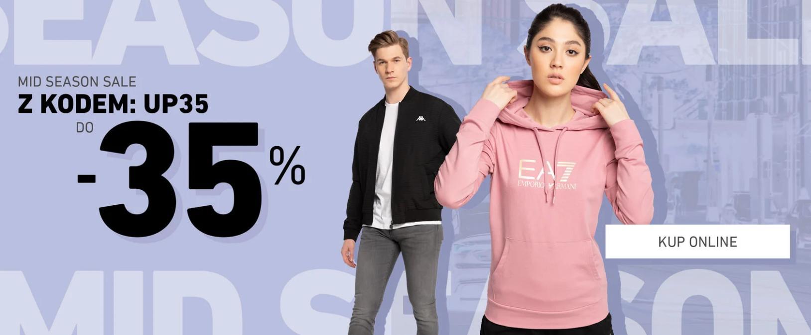 Eastend: wyprzedaż do 35% rabatu na odzież i obuwie streetwear