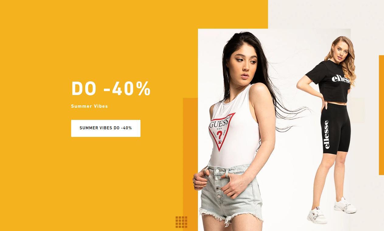 Eastend: do 40% zniżki na odzież i obuwie dla kobiet - Summer Vibes