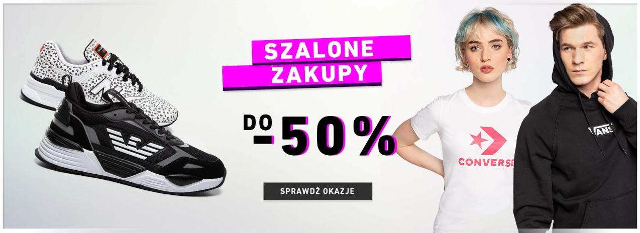 Eastend Eastend: do 50% zniżki na odzież oraz obuwie streetwear - Szalone Zakupy