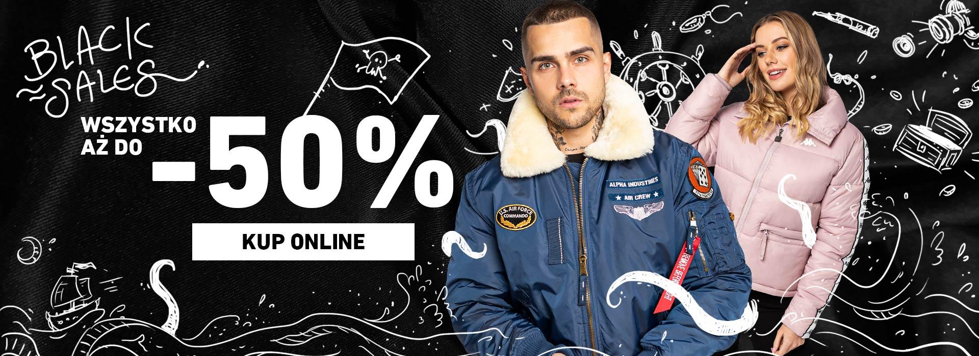 Eastend: Black Sales do 50% rabatu na odzież i obuwie damskie oraz męskie