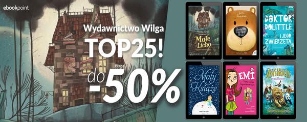 Ebookpoint: do 50% zniżki na topowe książki Wydawnictwa Wilga