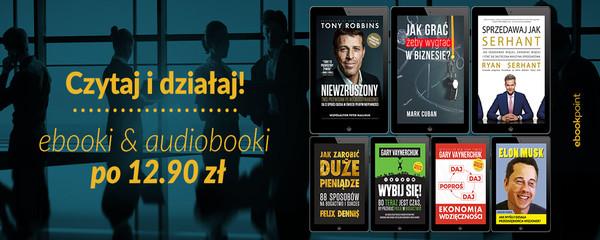 ebookpoint Ebookpoint: ebooki i audiobooki po 12,90 zł