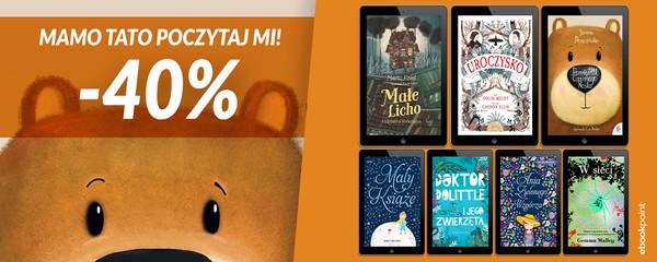 Ebookpoint: 40% rabatu na książki dla dzieci