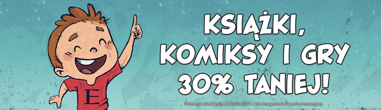 Egmont: 30% zniżki na książki, komiksy oraz gry